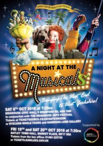 A Night at the Musicals | Natasha Harper Productions @ Brighouse Civic Hall | England | United Kingdom