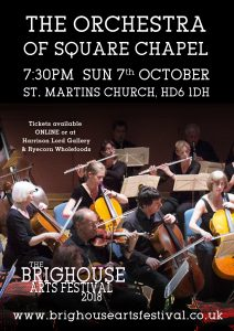 Orchestra of Square Chapel Concert @ St Martin's Church | England | United Kingdom