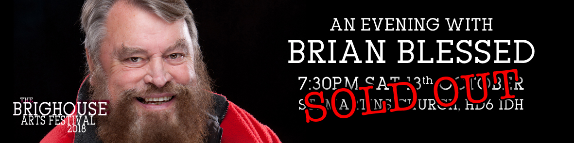 Brian Blessed Banner Sold Out