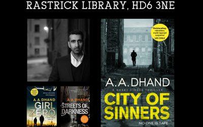 A. A. Dhand – Author Talk